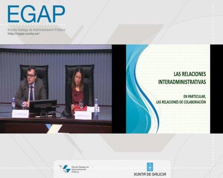 Relacións interadministrativas  - As Leis 39/2015 e 40/2015 do Procedemento Administrativo Común (LPAC) e do Réxime Xurídico do Sector Público (LRXSP)